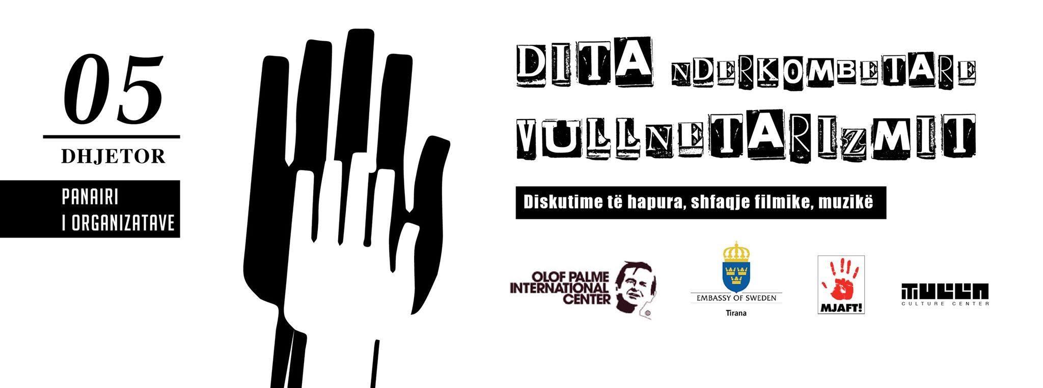 Dita Ndërkombëtare e Vullnetarizmit !