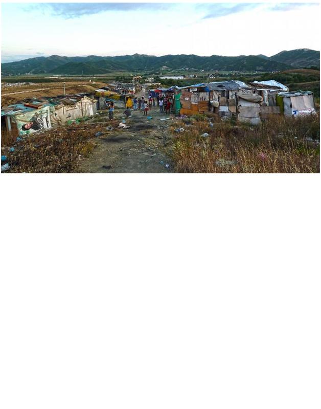 Kushtet në të cilat jetojnë  romët në Shqipëri nga Arsiana Durmishaj