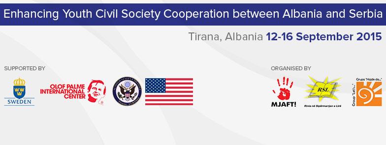 """""""Rritja e bashkëpunimit ndërmjet shoqërisë civile të Shqipërisë dhe Serbisë"""