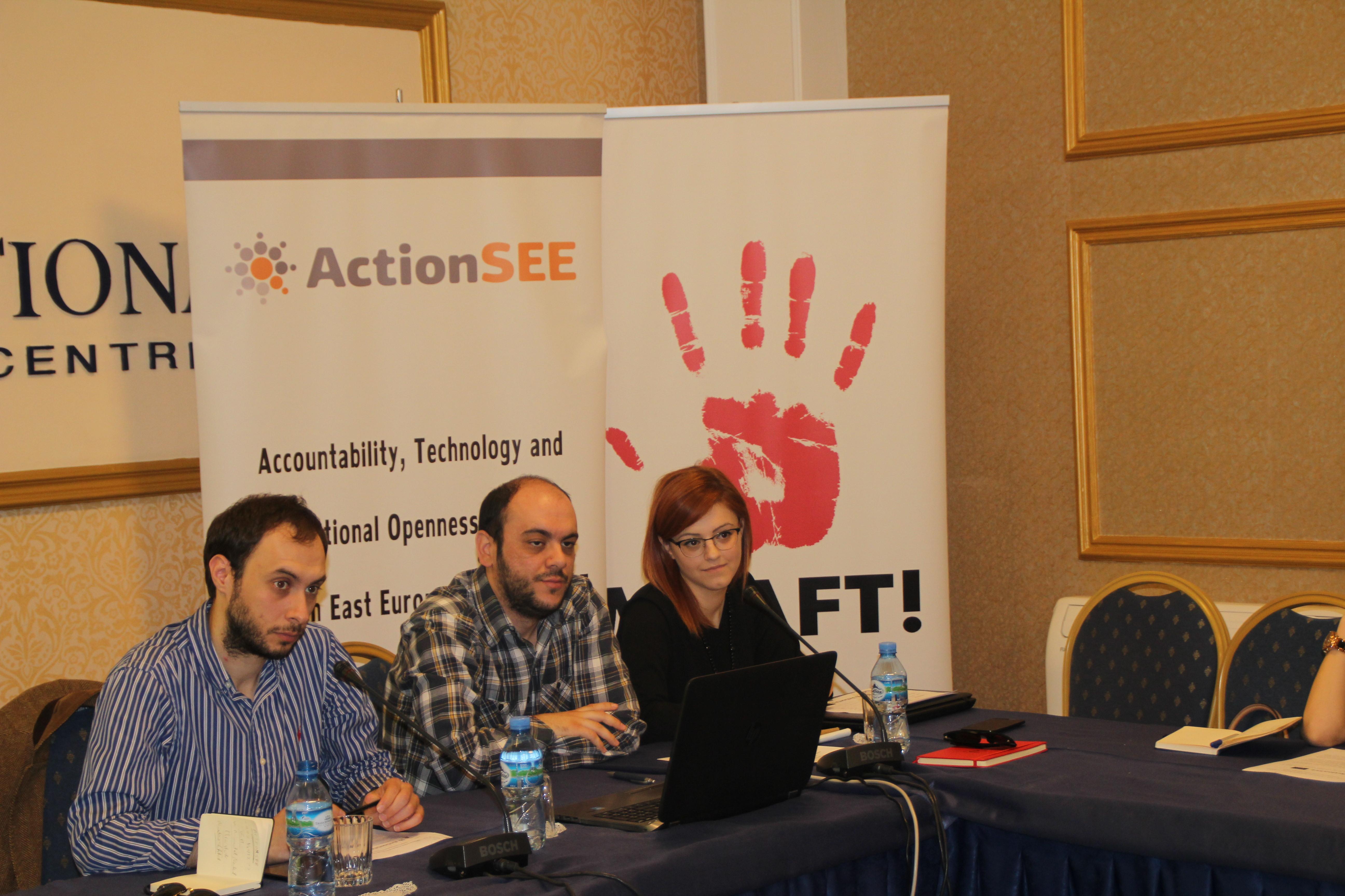 """Prezantimi i studimit """"Qeverisja e hapur e institucioneve të pushtetit ekzekutiv në rajon dhe në Shqipëri"""""""